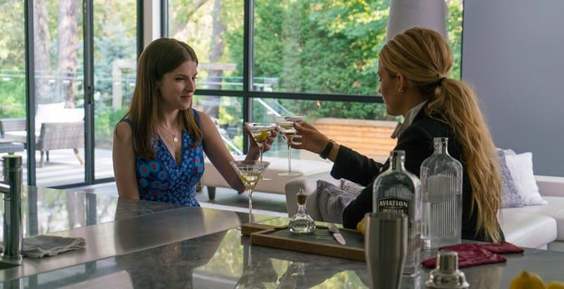 A SIMPLE FAVOR: Cheers again!