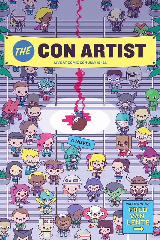 THE CON ARTIST: Cover for In article