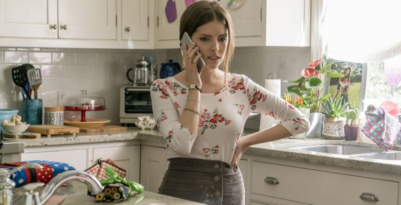 A SIMPLE FAVOR: Shannon on the tele