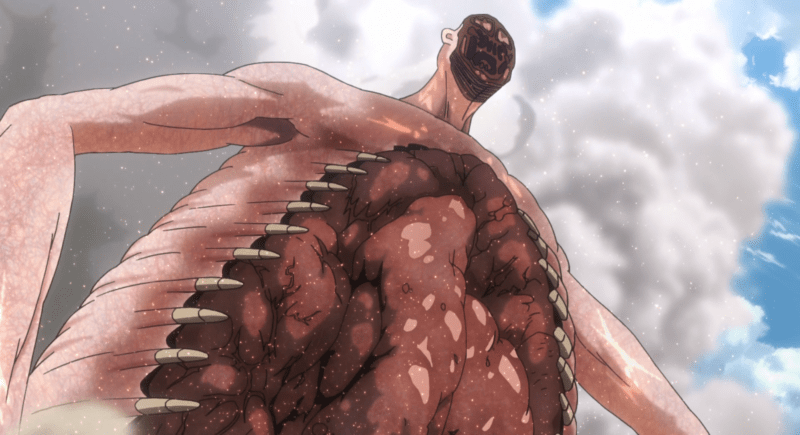 Reiss' Titan form in ATTACK ON TITAN.