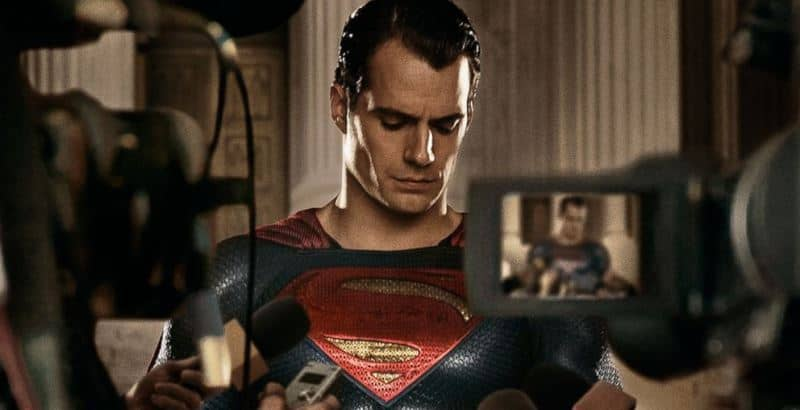 Cavill: Superman in front of the cameras
