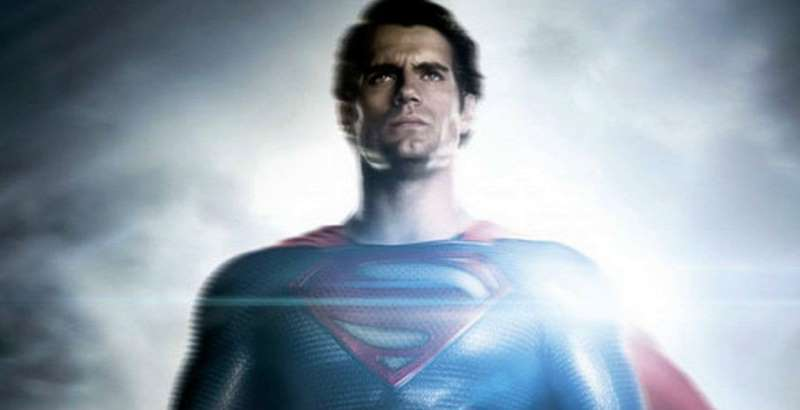 Cavill: Backlit Superman