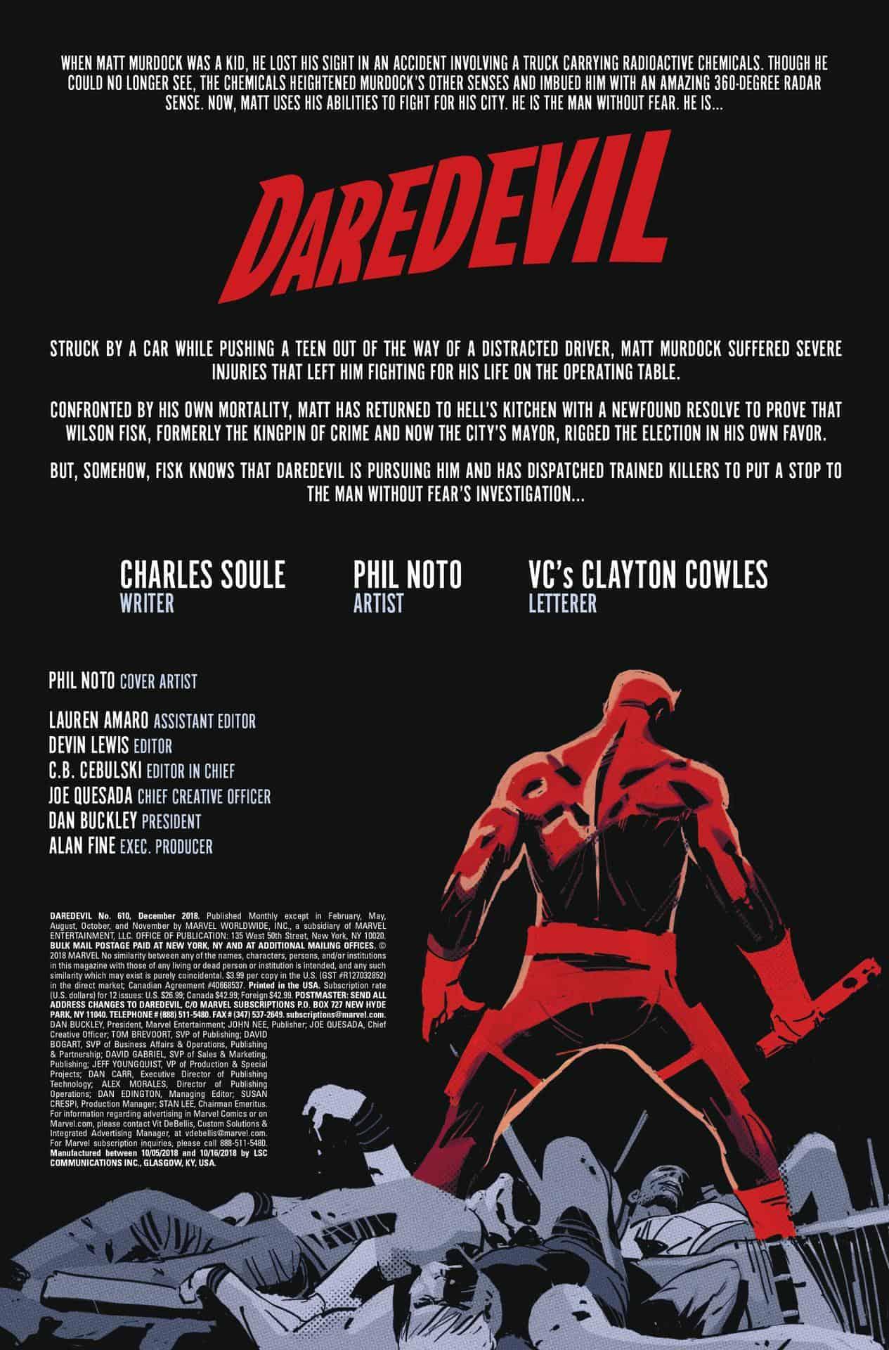 daredevil #610