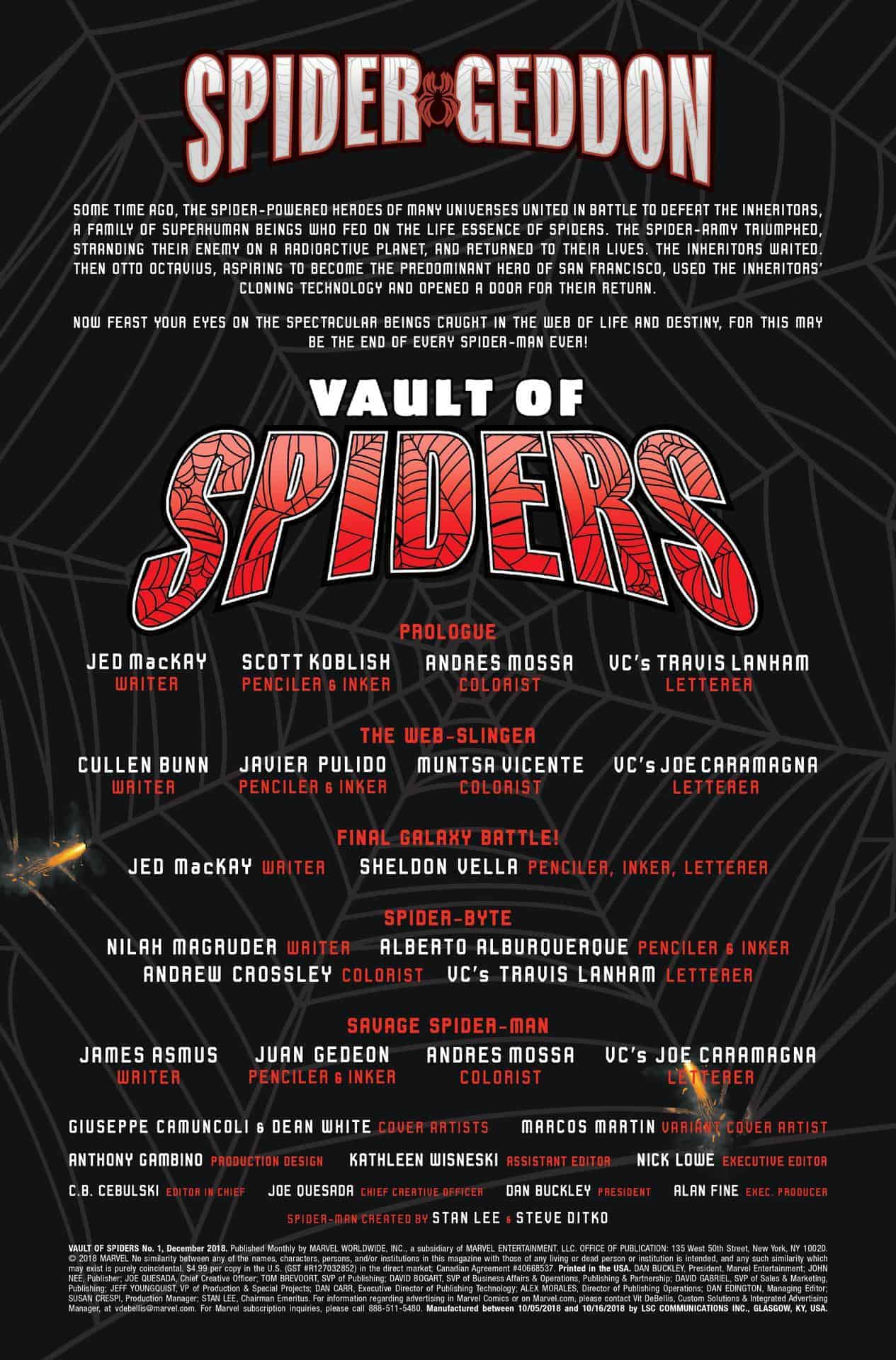 vault of spiders #1