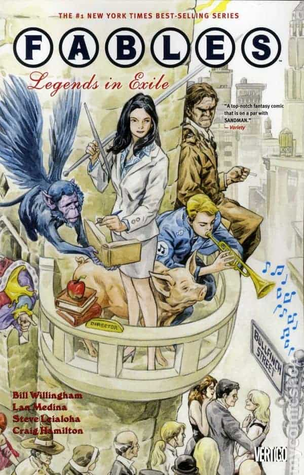 fairy tales FABLES #1