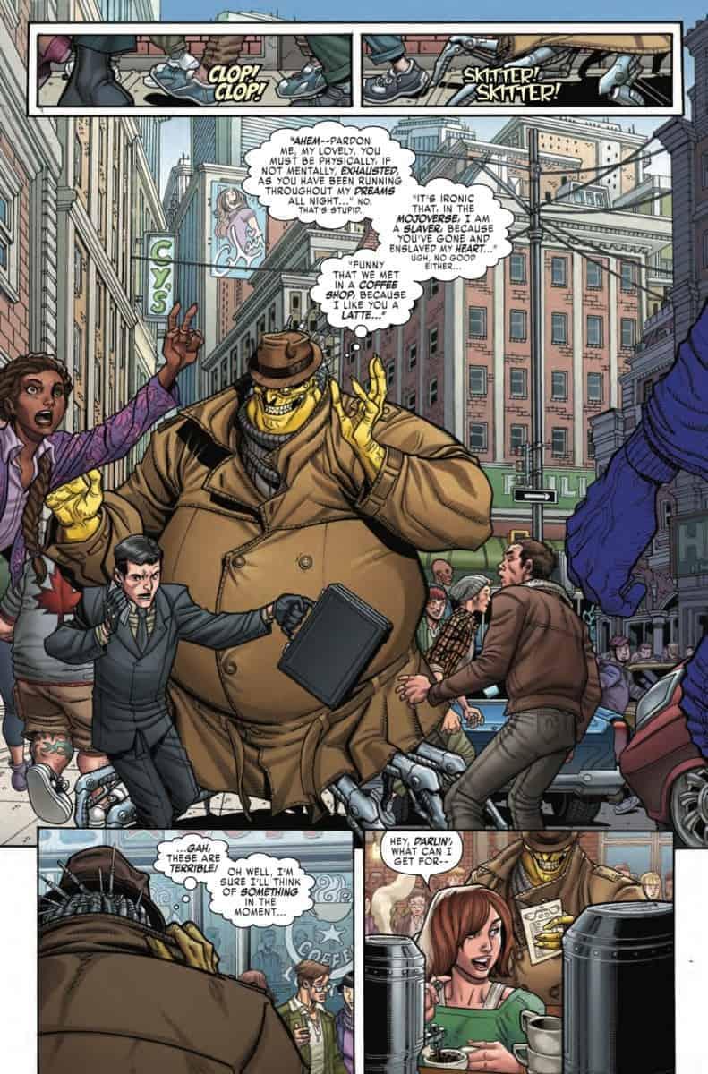 X-MEN BLACK: MOJO #1