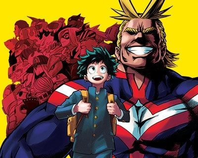 Hero Academia Manga Cover