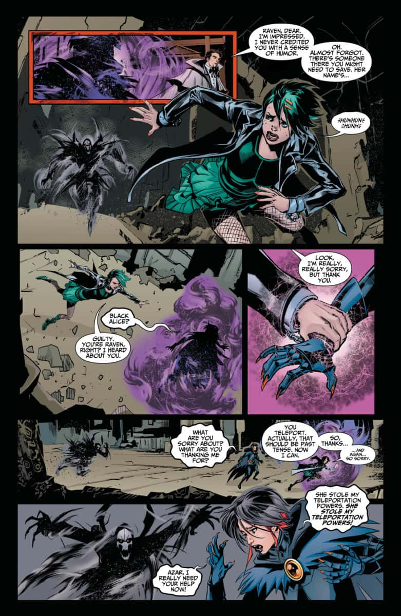 RAVEN: DAUGHTER OF DARKNESS #9