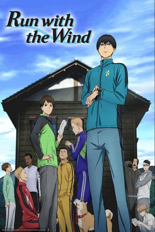 RUN WITH THE WIND cover image featuring much of the cast