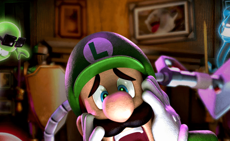 Creepy music Luigi's Mansion