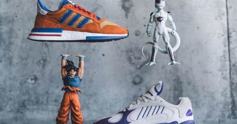 d681411d34a Adidas  First DRAGON BALL Z Shoes Sell out in Minutes - ComicsVerse
