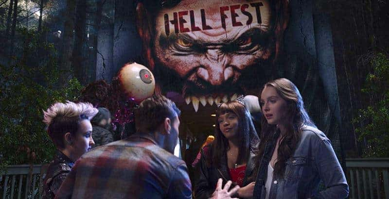 HELL FEST: Taylor, Quinn, Brooke, and Natalie