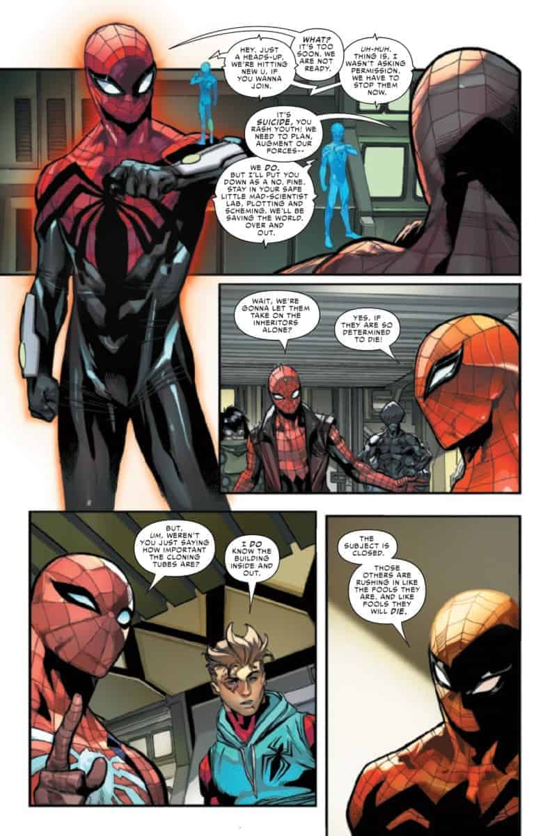 SPIDER-GEDDON #3 Making Decisions