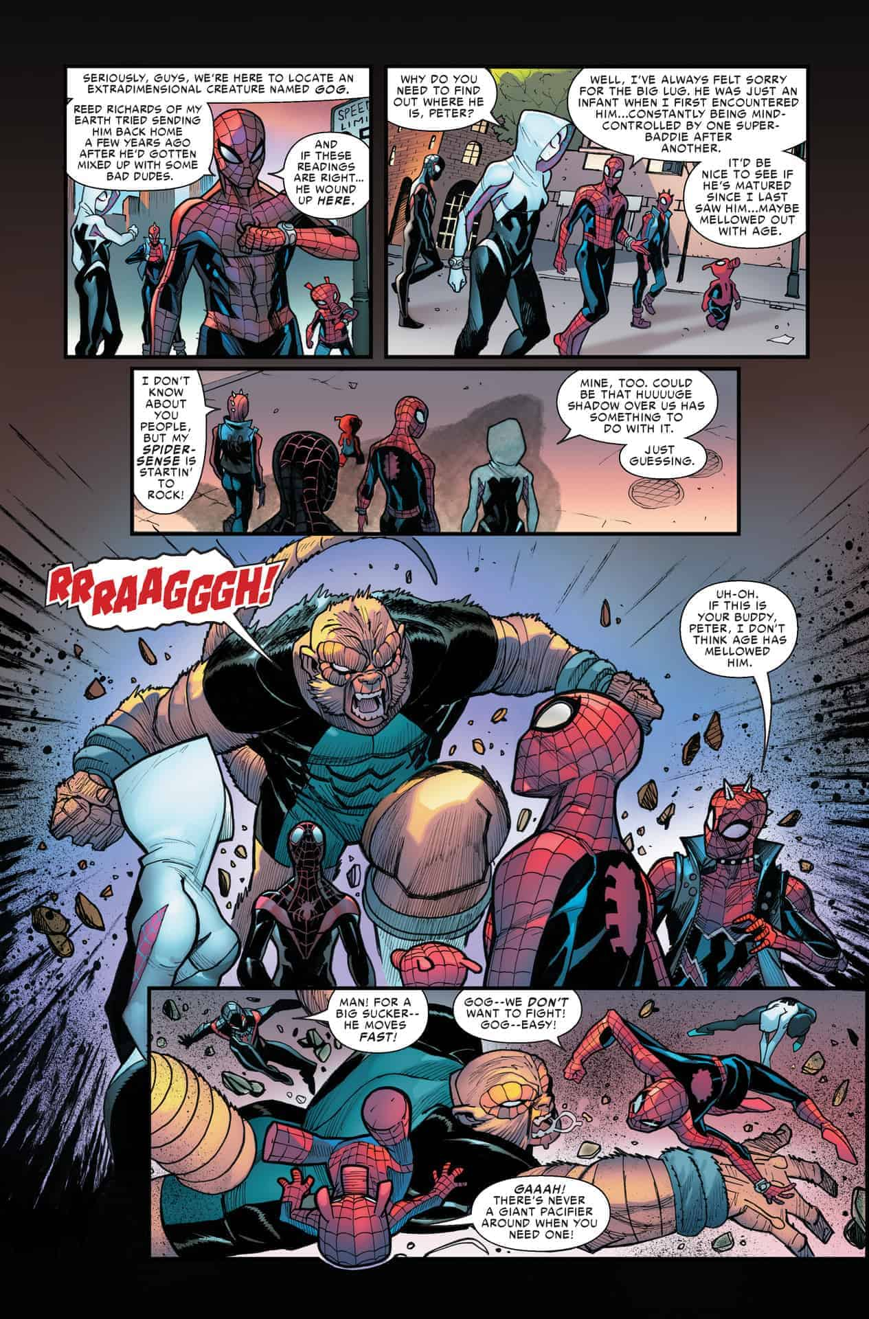 Spider-Man Into The Spiderverse 1