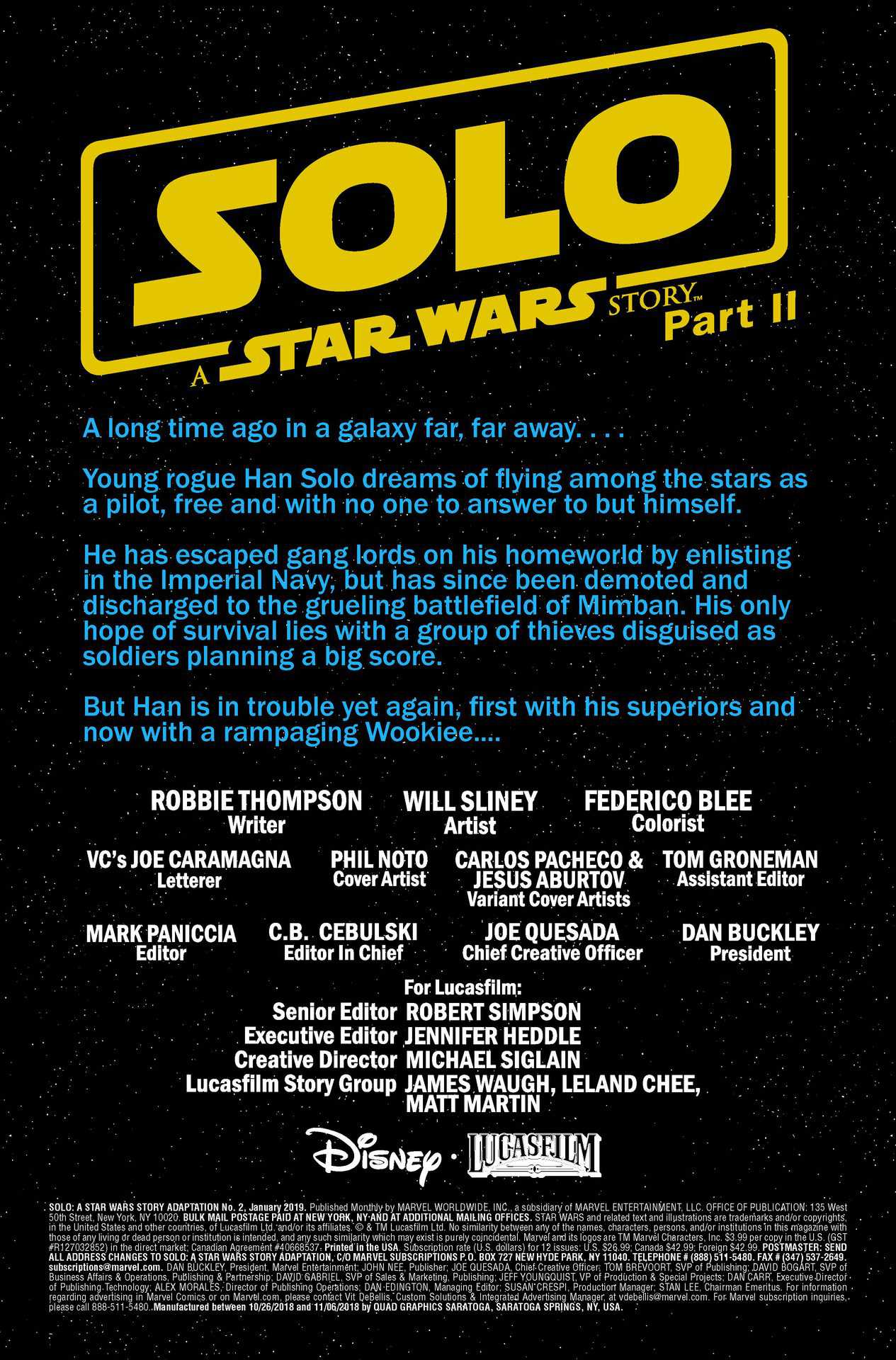 solo: a star wars story #2