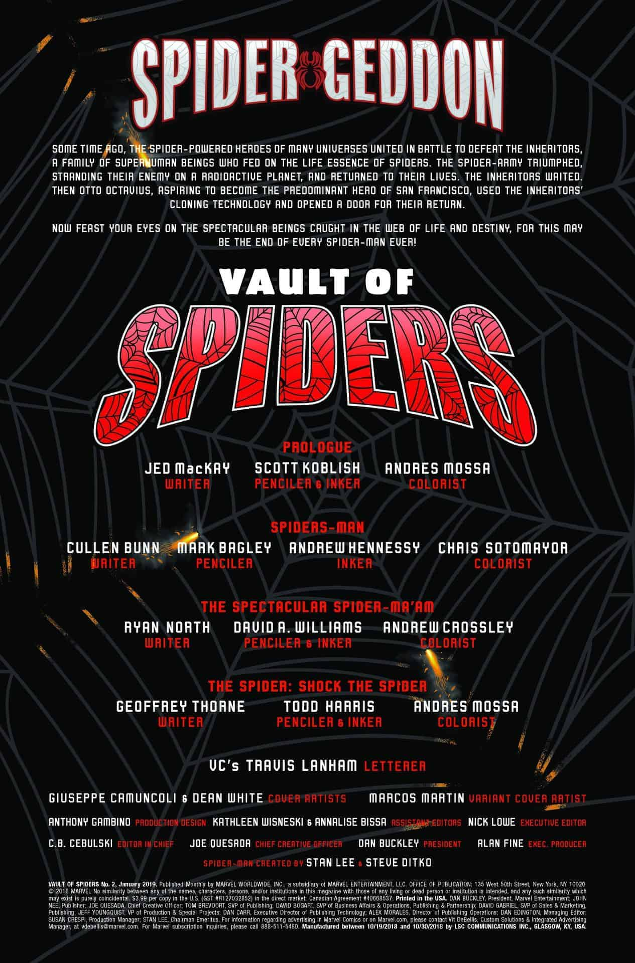 vault of spiders #2