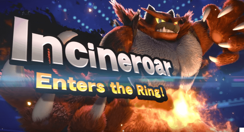 Incineroar SUPER SMASH BROS
