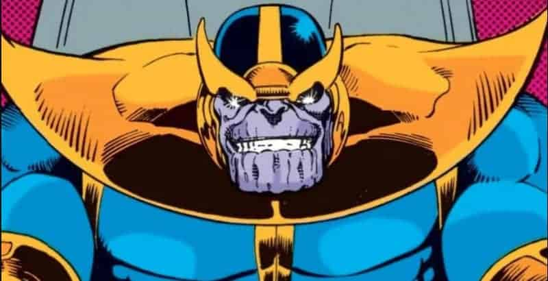 Adaptation: Thanos from comics