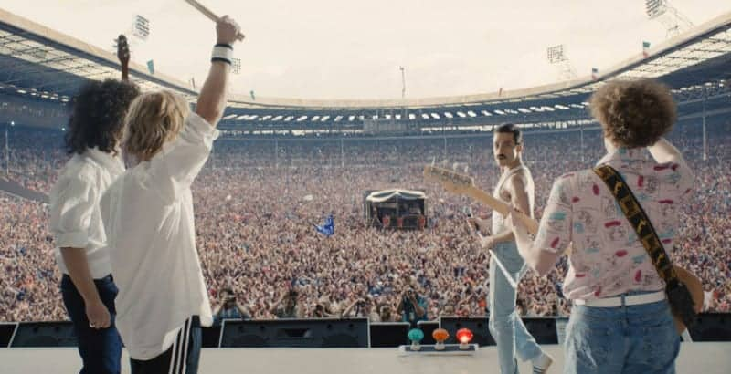 BOHEMIAN RHAPSODY: The crowd