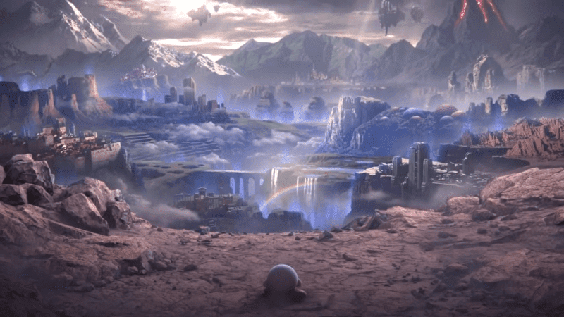 super smash bros world of light kirby