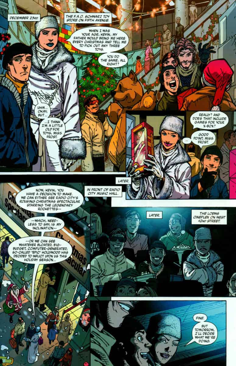 2004 MARVEL HOLIDAY SPECIAL