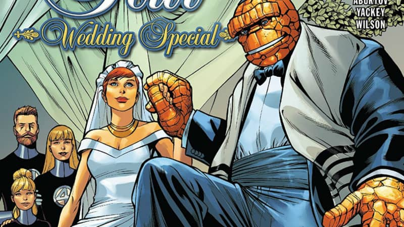 fantastic four wedding special