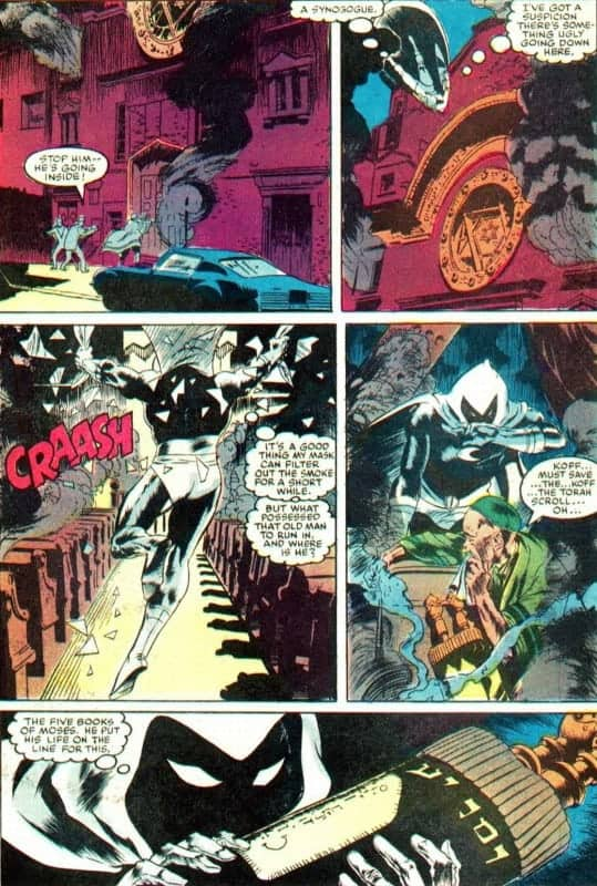 Moon Knight Judaism: Saving Torah