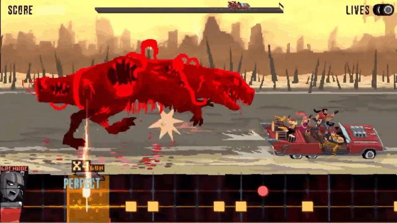 Indie Zombie metal double kick heroes switch nintendo