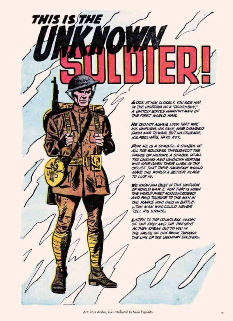 THE UNKNOWN ANTI-WAR COMICS