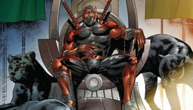 black panther vs deadpool #4