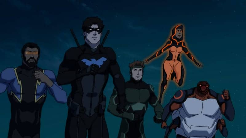 How YOUNG JUSTICE: OUTSIDERS Matured With Fans - ComicsVerse