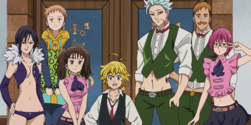The Seven Deadly Sins Prisoners Of The Sky Review