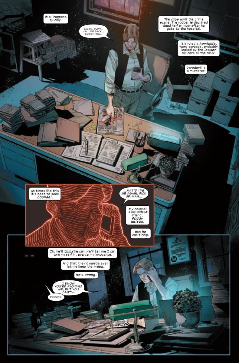 DAREDEVIL #2-FOGGY SEARCHING