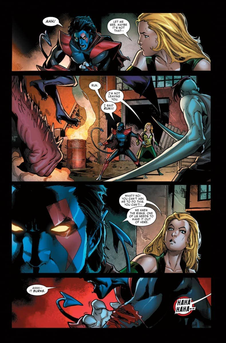 age of x-man the amazing nightcrawler #1