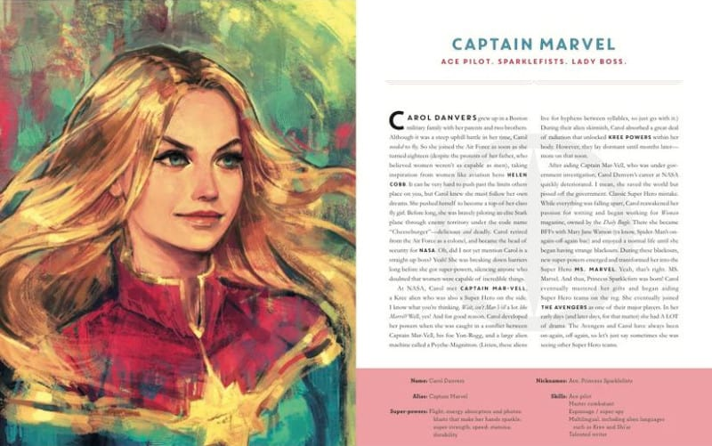 POWERS OF A GIRL: CAPTAIN MARVEL