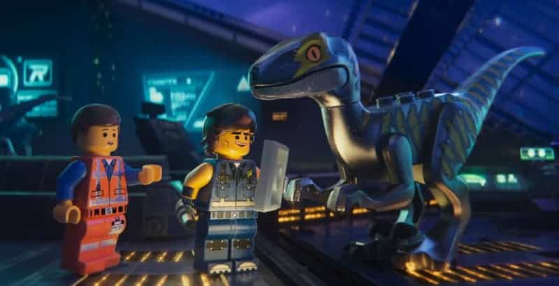 The Lego Movie 2: Emmet, Rex, and Raptor