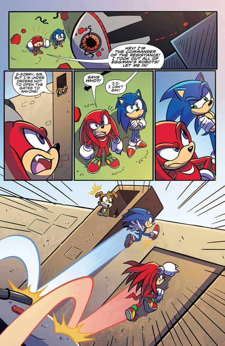 SONIC THE HEDGEHOG #1-#12
