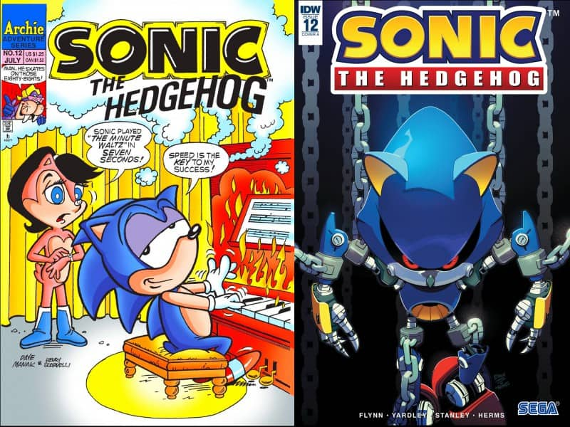 SONIC covers