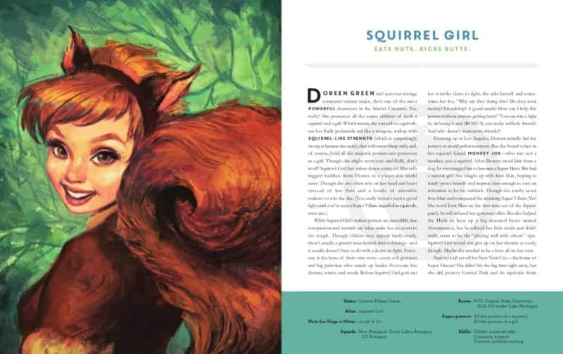 POWERS OF A GIRL: SQUIRREL GIRL
