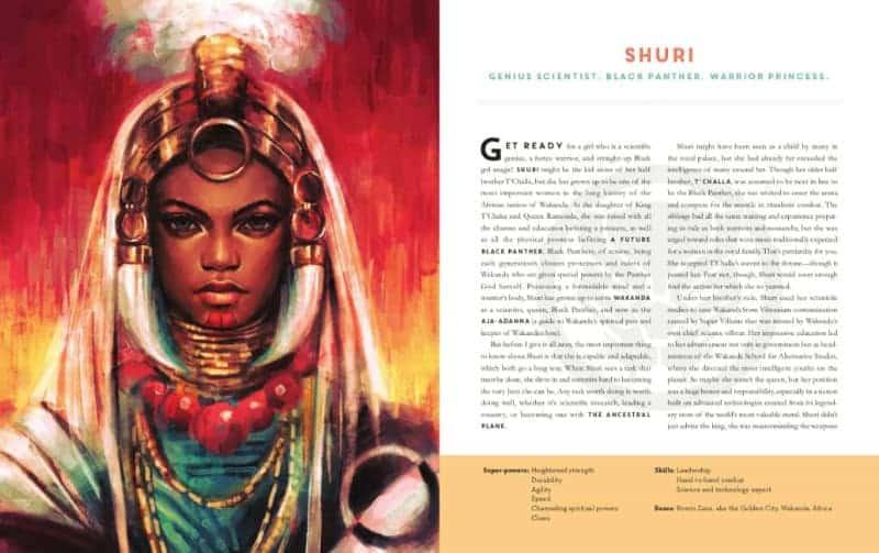 POWERS OF A GIRL: Shuri