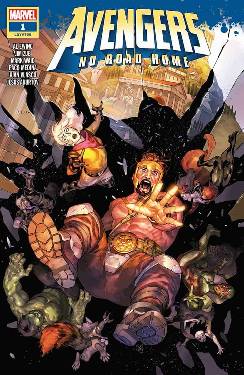 avengers no road home #1