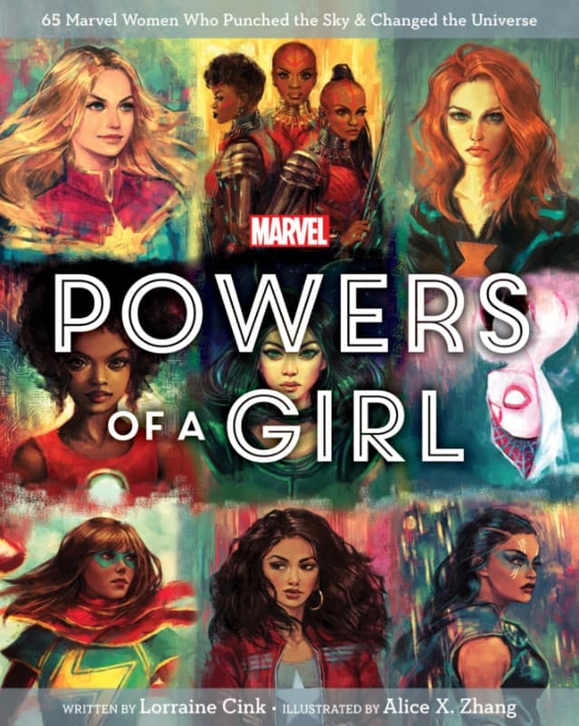 POWERS OF A GIRL: COVER