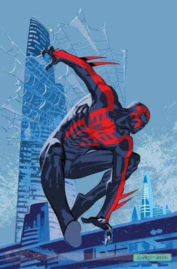 spider-man 2099 Red and Black Suit