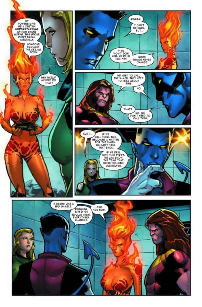 age of x-man the amazing nightcrawler #2