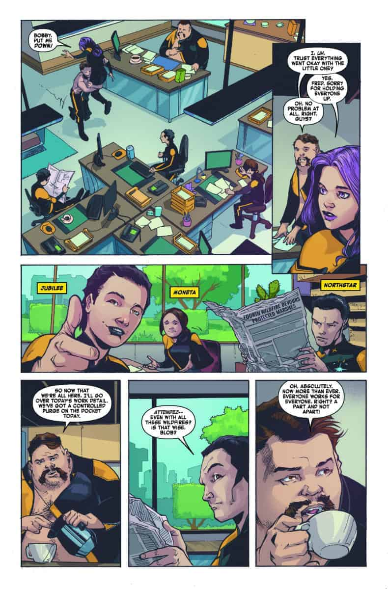 AGE OF X-MAN: X-TREMISTS #2 Jubilee Blob