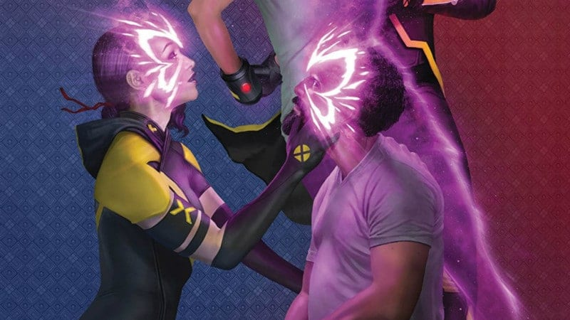 Psylocke and Blob Begin Their Love Story in AGE OF X-MAN: X