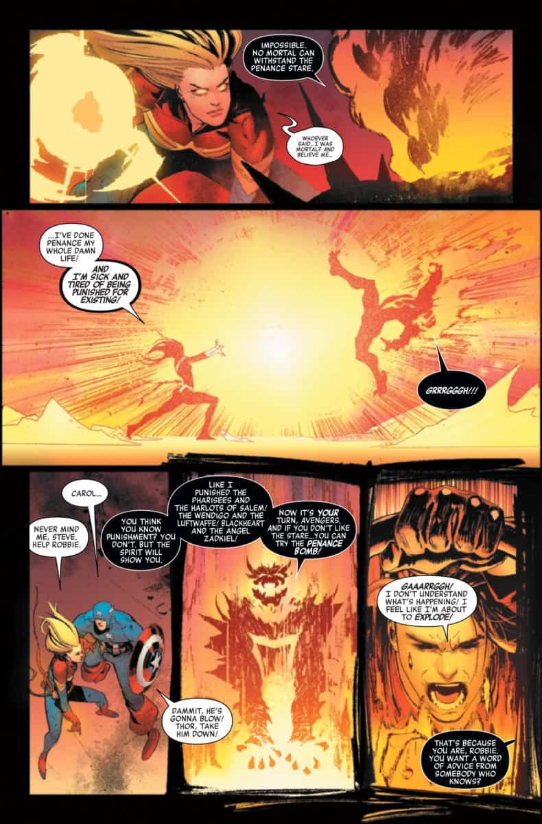 AVENGERS #16 is the Fight of Ghost Rider's Life - ComicsVerse