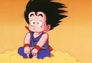 The main character of Dragon Ball, Goku.
