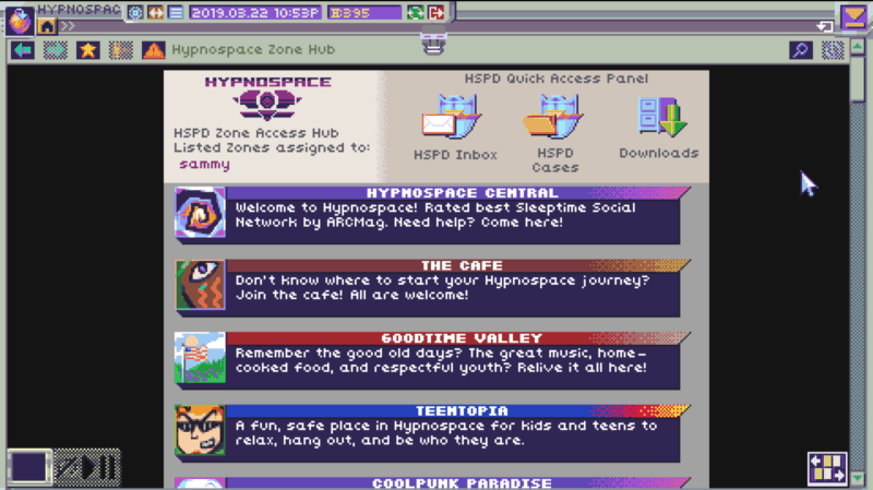 HYPNOSPACE OUTLAW: Early Internet Aesthetics, Present-Day