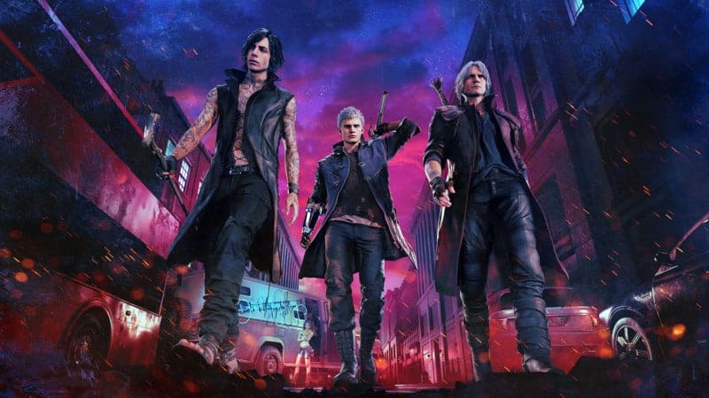 DEVIL MAY CRY 5 Style